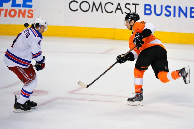 NHL: APR 16 Rangers at Flyers
