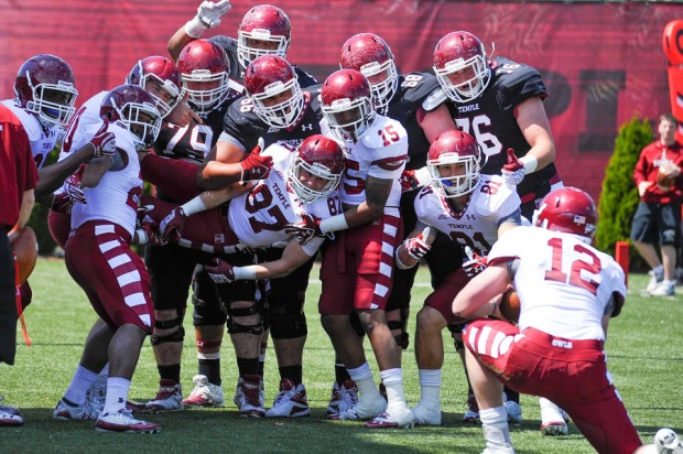 NCAA FOOTBALL: APR 20 Temple Spring Game
